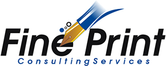 Logo Fine Print Consulting Services